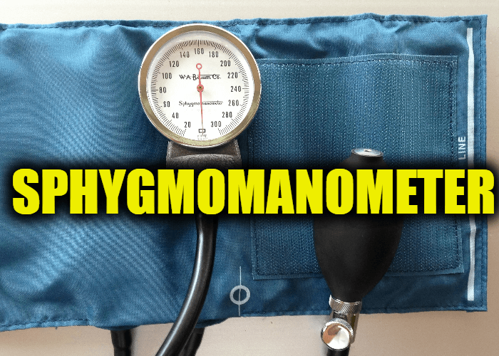 "Use Sphygmomanometer in a Sentence - How to use ""Sphygmomanometer"" in a sentence"