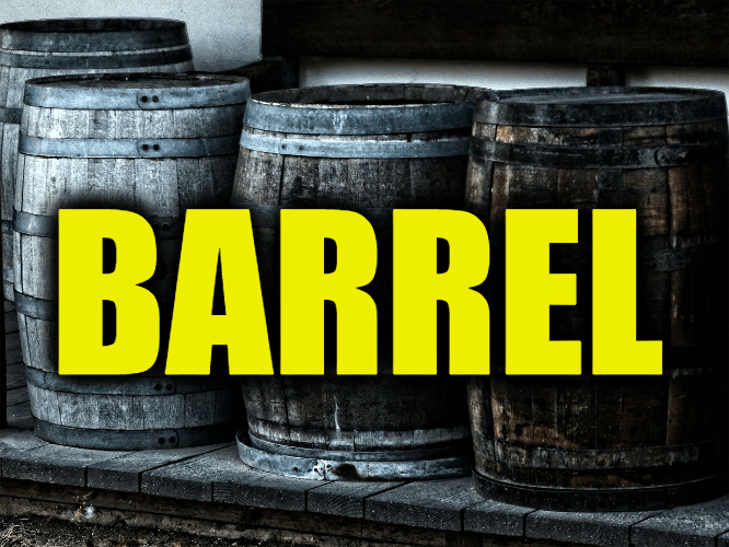 """Use Barrel in a Sentence - How to use """"Barrel"""" in a sentence"""