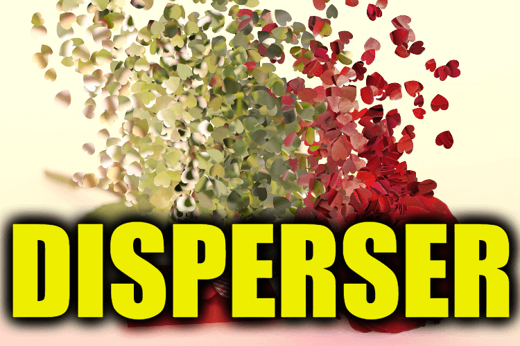 "Use Disperser in a Sentence - How to use ""Disperser"" in a sentence"