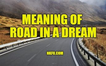 Meaning of Dreams about road