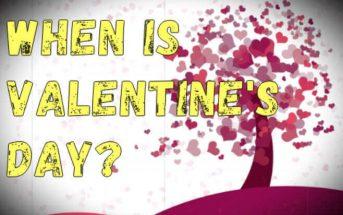 When is Valentine's Day? Is Valentine's Day always on February 14?