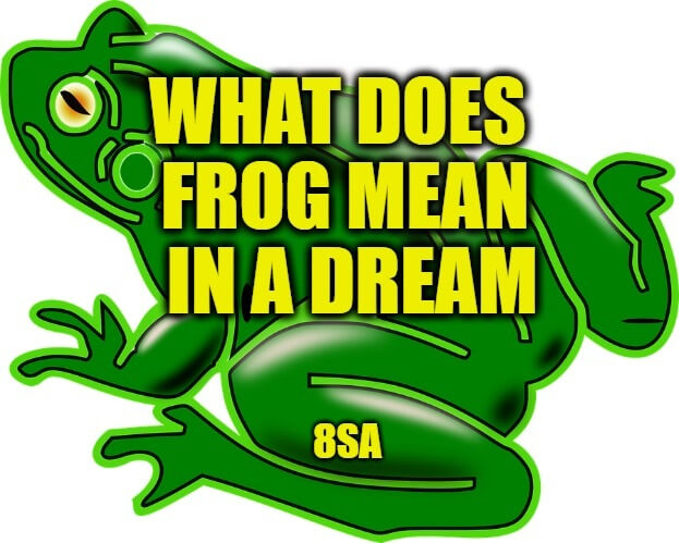 frog dreams meaning