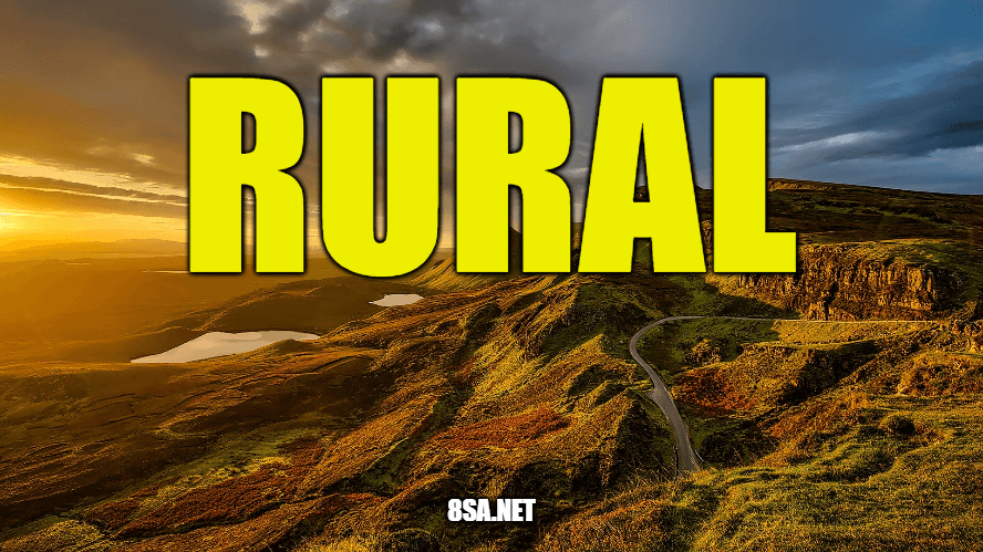 """Use Rural in a Sentence - How to use """"urban"""" in a sentence"""