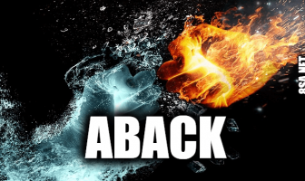 "Use Aback in a Sentence - How to use ""Aback"" in a sentence"