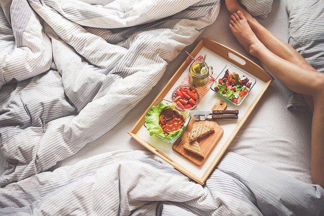Make breakfast in bed