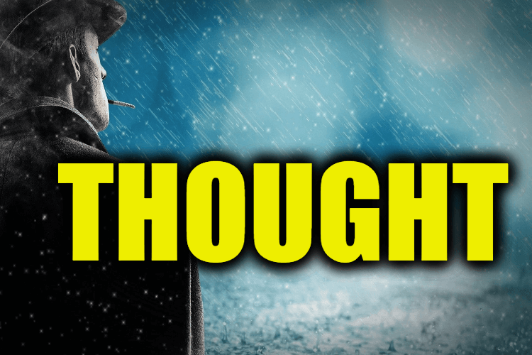 """Use Thought in a Sentence - How to use """"Thought"""" in a sentence"""