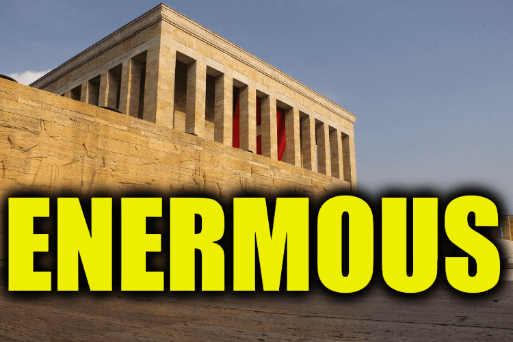 """Use Enermous in a Sentence - How to use """"Enermous"""" in a sentence"""