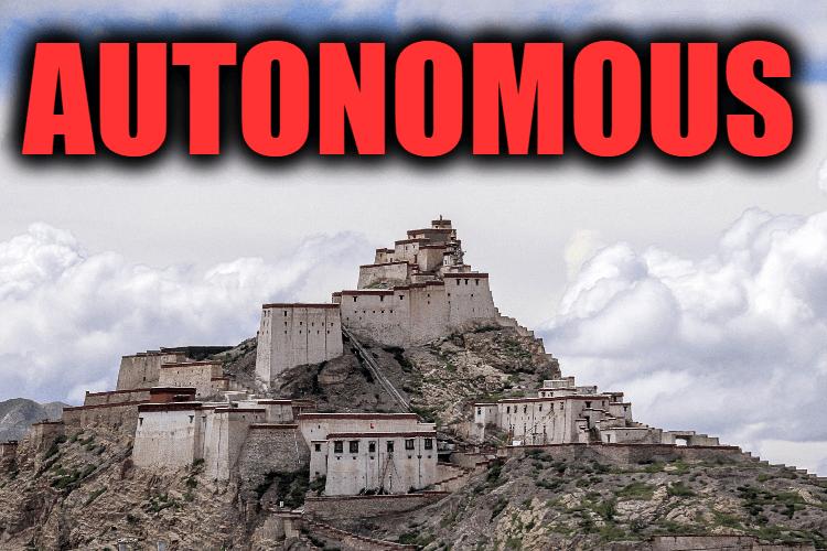 "Use Autonomous in a Sentence - How to use ""Autonomous"" in a sentence"