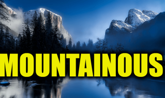 "Use Mountainous in a Sentence - How to use ""Mountainous"" in a sentence"