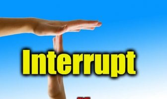 Interrupt - Sentence for Interrupt - Use Interrupt in a Sentence