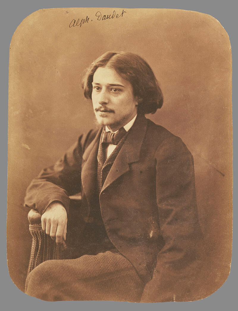 Alphonse Daudet Biography and Writings (French Novelist)