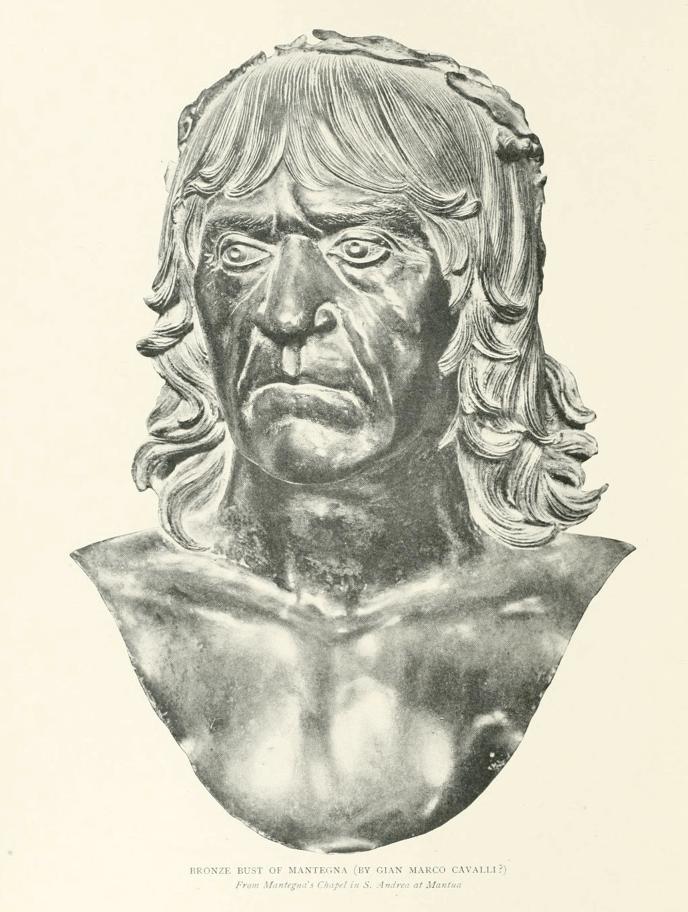Bronze Bust of Mantegna, Autotype Company (1901)