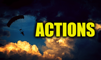 "Use Actions in a Sentence - How to use ""Actions"" in a sentence"