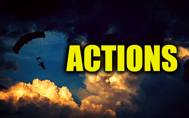 """Use Actions in a Sentence - How to use """"Actions"""" in a sentence"""