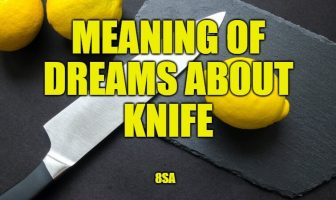 Meaning of Dreams About Knife