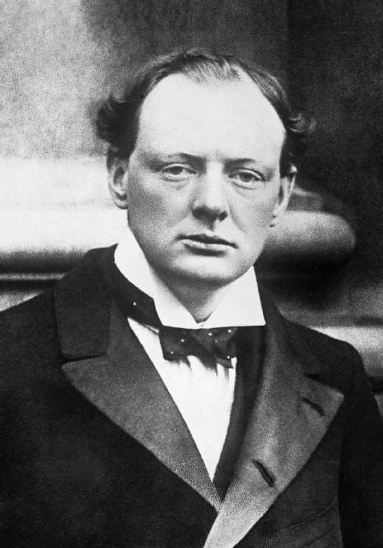 Churchill in 1904