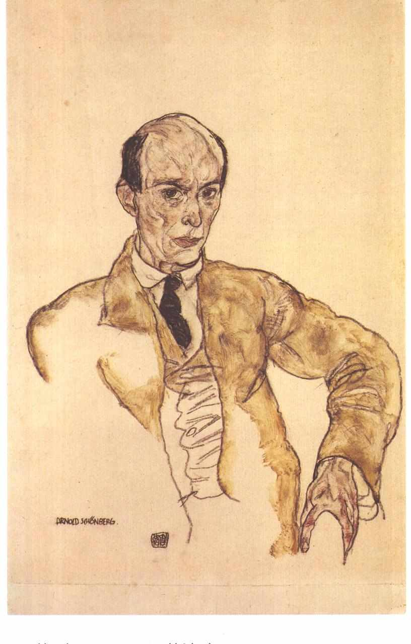 Arnold Schoenberg (Austrian-American Composer)