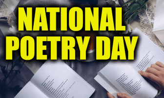 What is National Poetry Day and Activities (October 3)