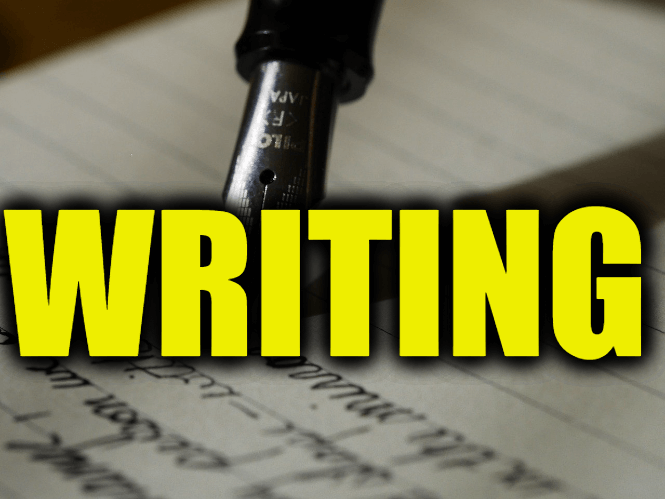 "Use Writing in a Sentence - How to use ""Writing"" in a sentence"