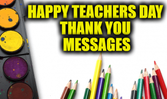Happy Teachers Day Thank You Messages | Reply Wishes