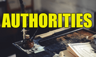 "Use Authorities in a Sentence - How to use ""Authorities"" in a sentence"