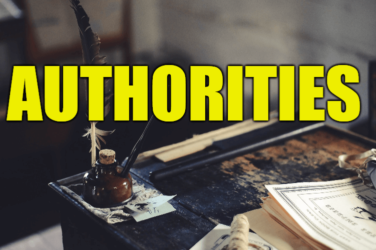 """Use Authorities in a Sentence - How to use """"Authorities"""" in a sentence"""