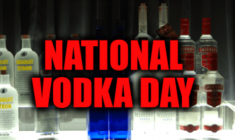 What is National Vodka Day and Activities (October 4)