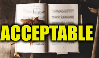 "Use Acceptable in a Sentence - How to use ""Acceptable"" in a sentence"
