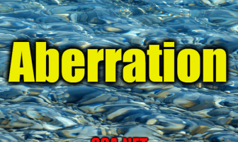 "Use Aberration in a Sentence - How to use ""Aberration"" in a sentence"