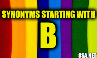 Synonyms starting with B