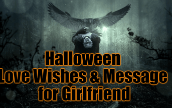 Cute Halloween Love Wishes and Message for Girlfriend