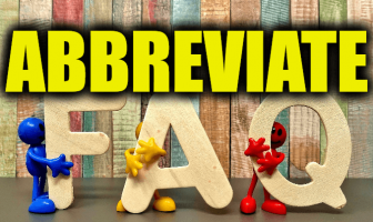 "Use Abbreviate in a Sentence - How to use ""Abbreviate"" in a sentence"
