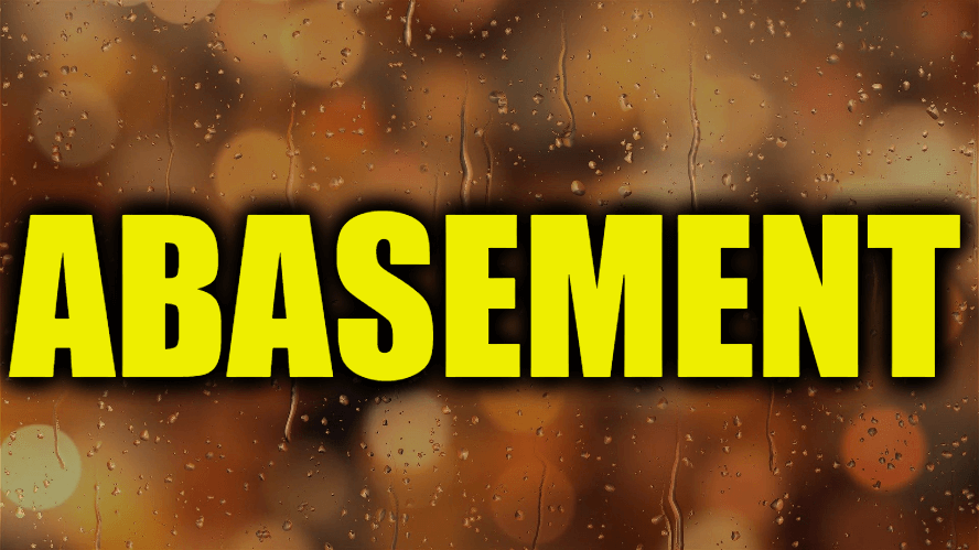 """Use Abasement in a Sentence - How to use """"Abasement"""" in a sentence"""