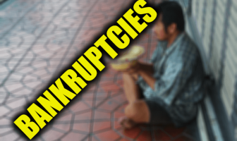 "Use Bankruptcies in a Sentence - How to use ""Bankruptcies"" in a sentence"