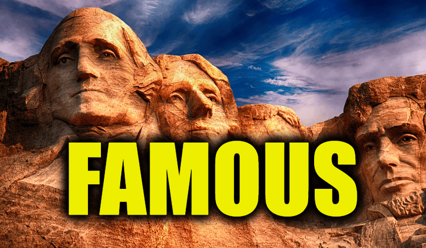 """Use Famous in a Sentence - How to use """"Famous"""" in a sentence"""