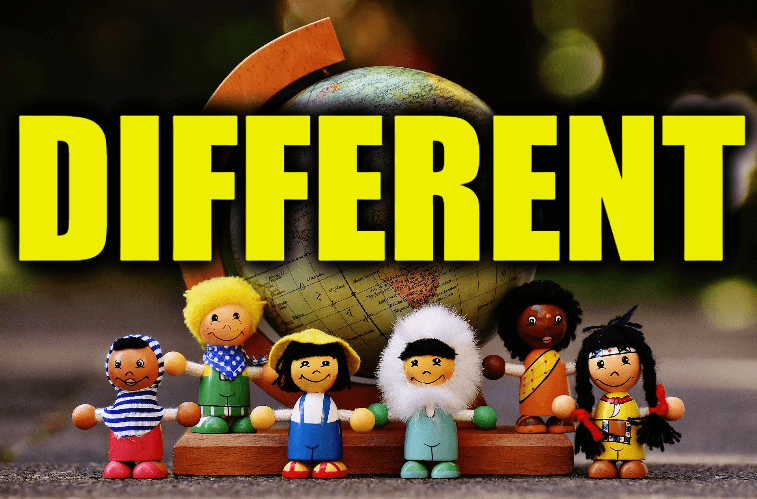 """Use Different in a Sentence - How to use """"Different"""" in a sentence"""