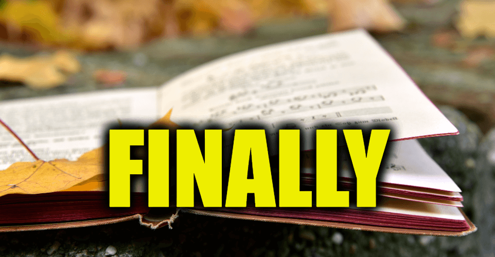 """Use Finally in a Sentence - How to use """"Finally"""" in a sentence"""