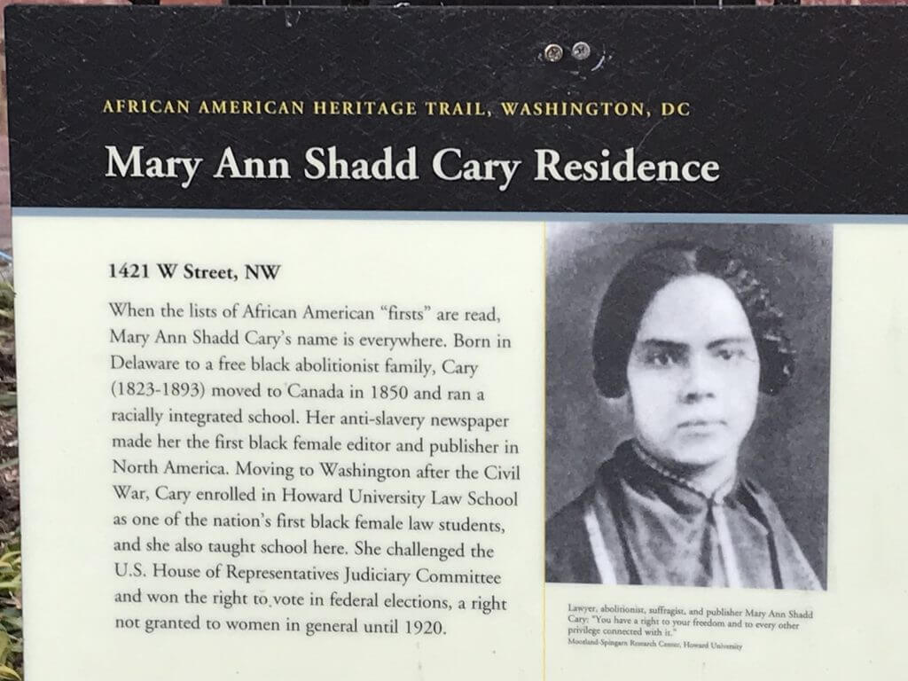Mary Ann Shadd Cary Biography (First Female African American Newspaper Editor in North America)