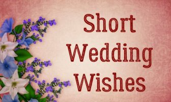 Short Wedding Wishes