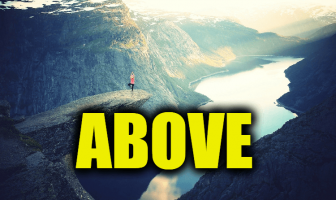 "Use Above in a Sentence - How to use ""Above"" in a sentence"