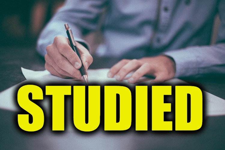 """Use Studied in a Sentence - How to use """"Studied"""" in a sentence"""