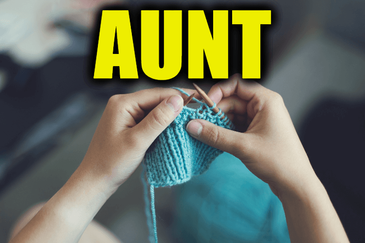 """Use Aunt in a Sentence - How to use """"Aunt"""" in a sentence"""