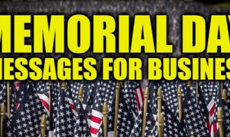 Memorial Day Messages for Business