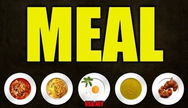 Meal - Sentence for Meal - Use Meal in a Sentence Examples