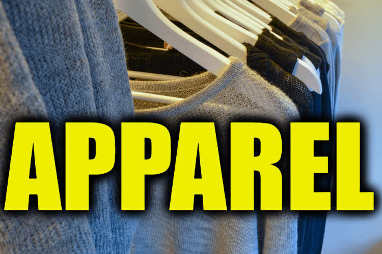 """Use Apparel in a Sentence - How to use """"Apparel"""" in a sentence"""
