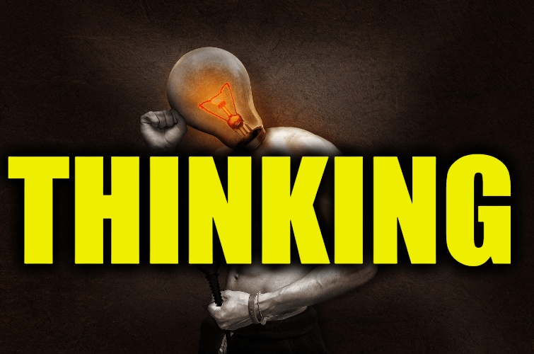 "Use Thinking in a Sentence - How to use ""Thinking"" in a sentence"