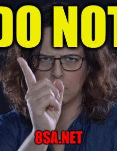 Do Not - Sentence for Do Not - Use Do Not in a Sentence