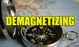 "Use Demagnetizing in a Sentence - How to use ""Demagnetizing"" in a sentence"