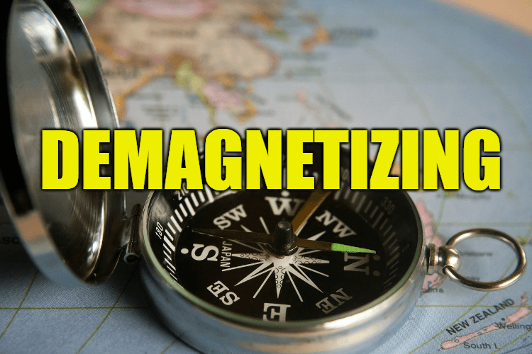 """Use Demagnetizing in a Sentence - How to use """"Demagnetizing"""" in a sentence"""