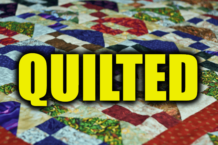 """Use Quilted in a Sentence - How to use """"Quilted"""" in a sentence"""